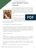Rugaciuni Catre Sfantul Cuvios Benedict de Nursia