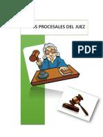 Actos Procesales Del Juez