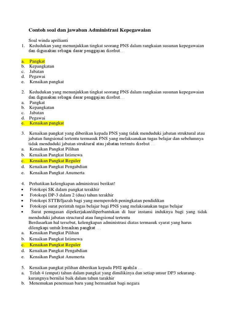 Contoh Soal Assessment Test Manager Dan Jawabannya Bali Teacher