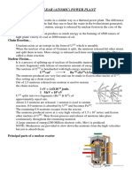 NUCLEAR Power Plant Notes