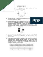 Lista de Problemas 04 - Circuitos CC