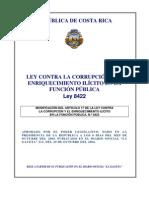 ley contra la corrupcion enrequecimiento ilicito nâ° 8422m1