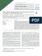 Sifat-sifat Sedimen Permukaan Dan Penilaian Kontaminasi Logam Berat Dalam Sedimen Sungai Di Delta Sungai Pearl, Cina