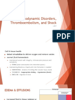 Hemo Dynamic Disorders Thrombo Embolism and Shock