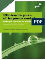 Eficiencia Impacto Social 2014