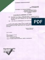 Circular Memo No 24-SW-2002-P-Single Desk Bureau