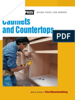 Cabinets & Countertops (for Pros by Pros) by Editors of Fine Woodworking