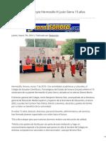 07-03-2019 - Celebra plantel Cecyte Hermosillo IV Justo Sierra 15 años educando jóvenes -Canalsonora.com