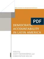 Scott Mainwaring, Christoper Welna - Democratic Accountability in Latin America (Oxford Studies in Democratization) (2003).pdf