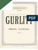 Gurlitt Cornelius Spring Flowers Fra Hlingsblumen 78305