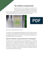 Cromatografía analítica