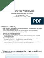 Fttx Status 2018