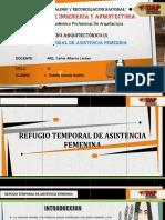 Refugio Temporal Femenina