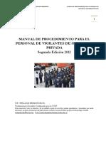 Manual Procedimiento Personal Vigilantes Seguridad Privada