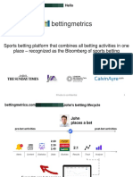 Bettingmetrics Pitch Deck