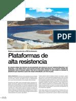 Reportaje de Diseño y Construcción de Un PAD de Livixiacion