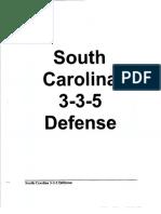 South Carolina 35 Stack Defense