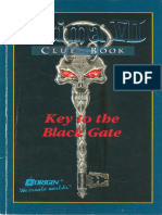 Ultima VII - Cluebook Key to the Black Gate