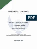 Reglamento Academico FAC