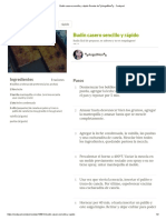 Budín casero sencillo y rápido Receta .pdf