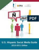2010-2011 U.S. Hispanic Social Media Guide (FINAL)