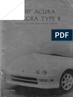 1997 Acura Integra Type R Technical Guide