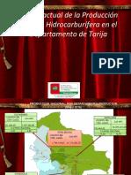 Producción y Renta Hidrocarburífera en El Departamento de Tarija