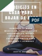 Ejercicios en Casa _ (Spanish Edition) - Jessy m. Brown