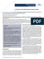Economic Impact Analysis of Cancer in the Health System of Brazil Model Based in Public Database
