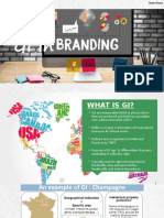 Geographical Indicators in Branding