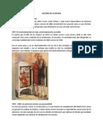 Historia de Artefactos Domésticos