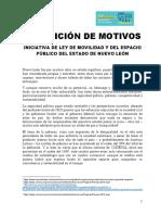 Iniciativa de Ley de Movilidad del Estado de Nuevo León de la sociedad civil