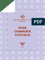 Guia Chanuka 2018 Sinagoga de Ipanema