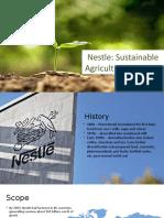 CSR- Nestle Sustainable Agriculture Initiative