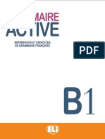 GRAMMAIRE ACTIVE B1