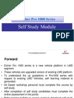 Eicher Pro 1000 series models - Self Study module presentation in PDF format.pdf