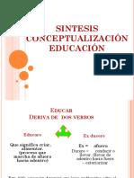 Sintesis Educacion