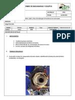 Informe Reparacion de Motor Minivan