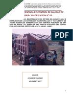 Informe de Control de Calidad San Juan Noviembre
