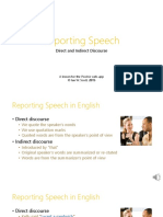 11 4 Reporting Speech