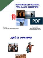 Coaching CETPRO Lima Setiembre 2008 1