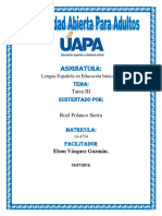 323363365 Tarea III y VI Yulendy Lopez