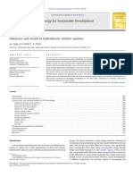 Advances and Trends in Hydrokinetic Turbine Systems