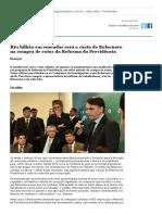3. R$1 bilhão em emendas será o custo de Bolsonaro na compra de votos da Reforma da Previdência