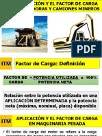 S190307 Seminario Aplicaciones y Factores de Carga de Camiones y Excavadoras