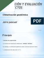 Presentaciòn Climatizaciòn Goetèrmica