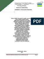 Proy. Final Emprendimiento y Educación Financiera 2017 (Julio)