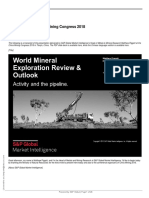 Global Exploration Outlook S&P 181018