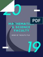 Mathematics & Science Faculty