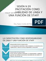 Sesion 9 Capacitación Como Responsabilidad de Línea y Función Del Staff Aprendizaje Como Clave